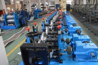 China Touch Screen PLC Control Rack Roll Forming Machine Metal Roll Forming Machine factory