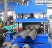 China 22Kw 50Hz Guardrail Roll Forming Machine 300mm Width 10 - 20 m / min Speed factory