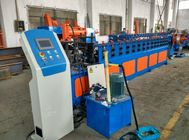 China CE Approval 0.7mm Stainless Steel CZ Purlin Roll Forming Machine 18 Roller Stations company
