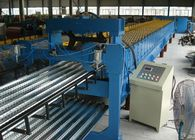 China Profiled Steel Sheet Floor Decking Panel Roll Forming Machine Feeding Width 1220mm company