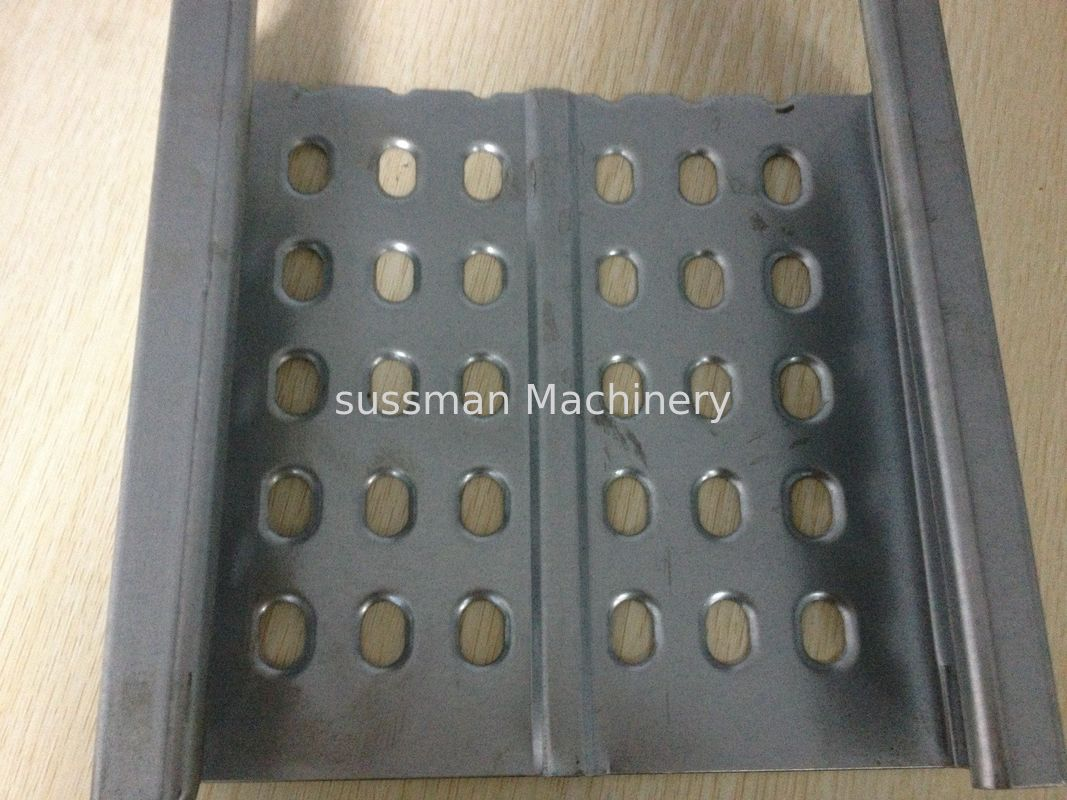 PLC Control Cable Tray Roller Making Machine With Single Chain ...