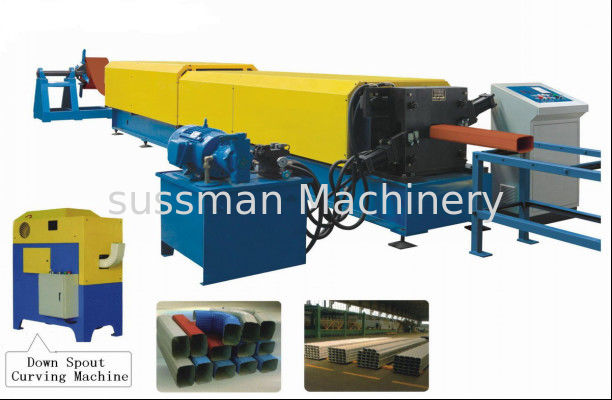 Glazed Steel Downspout Roll Forming Machine Galvanized Steel Pipe Production Line  sc 1 st  Quality Cable Tray Roll Forming Machine u0026 Stud & Glazed Steel Downspout Roll Forming Machine Galvanized Steel Pipe ...