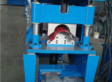 China Hydraulic Cutting Ridge Capping Roll Forming Equipment with PLC Control System factory