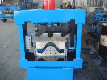 China Blue Manual Hydraulic 3 Ton Decoiler Roof Tile Roll Forming Machine 5 -12 m/min distributor