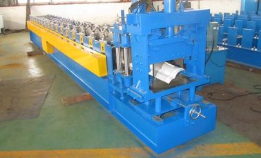 China Customized Automatic Roll Former Ridge Cap Roll Forming Machine 5.5Kw Main Motor Power distributor