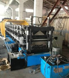 5.5Kw Hydraulic Power 1.2 Inch Single Chain Double Layer Ridge Cap Roll Forming Machine