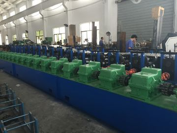 China 0.7mm - 2mm Cold Roll Former Cable Tray Roll Forming Machine 100/150/200mm Height factory
