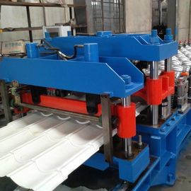 GI / PPGI Wall Panel Roll Forming Machine , RF-ST Roofing Sheet Making Machine