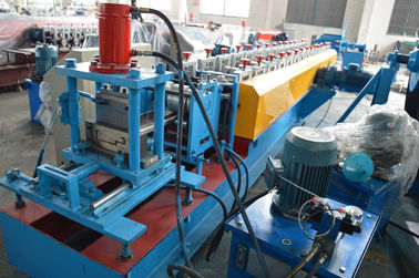 China Forming Speed 15m / Min Door Frame Roller Making Machine Gearbox Driving System distributor