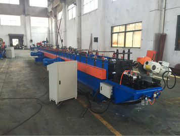 13 Teethes 12 - 15m/min High Speed Shutter Door Roll Forming Machine with PLC Control