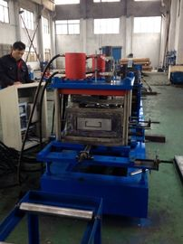 China Warehouse Pallet Rack Roll Forming Machine 1.0-2.5mm Galvanized Steel factory