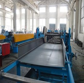 5 Ton Hydraulic Decoiler Cable Tray Roll Forming Equipment With Servo Feeding