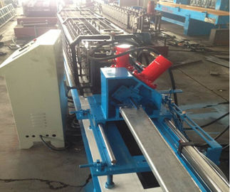 20 - 25m/min High Speed Curtain Rail Roll Forming Equipment 1.5Kw Servo Motor
