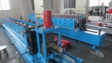 China 3 Ton Passive Decoiler Supportive Rail Roll Forming Machinery PLC Panasonic factory