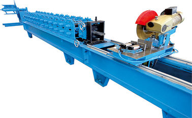 China 0.7-1.2mm Galvanized Steel Shutter Door  Edge Covering Roll Forming Machine pLC Control Fully Automatic factory