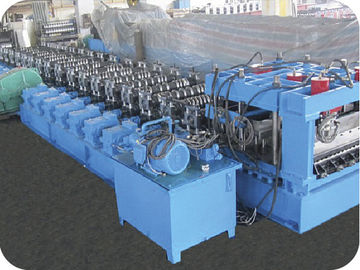 China PLC Touch Screen Control Roll Forming Equipment For Steel Silo Roll Former factory