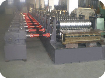 China 380V 50Hz 3 Phase Metal Steel Cold Roll Forming Machine with 18 Roller Stands factory