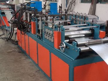 China 100*100 Min 1000*1200 Max 5 Tons Passive decoiler Fire Damper Roll Forming Machine PLC Control factory
