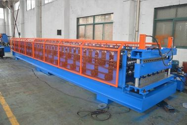 China Roof And Wall Panel Double Layer Roll Forming Machine With 18 Groups Of Roller Stations distributor