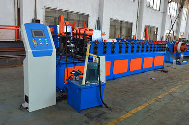 China Galvanized Steel Roll Forming Line , Racking Roll Forming Machine factory