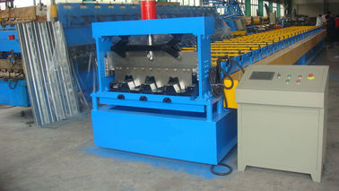 China about 8ton Roll Forming Equipment For Floor Decking Panel 7.5KW 380V 50Hz distributor