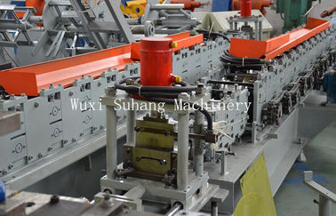 China 5.5kw Main Power Ce Certificate Automatic Metal Roller Shutter Door Forming Machine With 3 tons Manual Decoiler factory