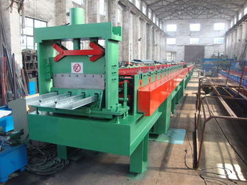 China 0.8 - 2mm Galvanized Steel Sheet Floor Deck Roll Forming Machine 380V 50Hz 3 Phase factory