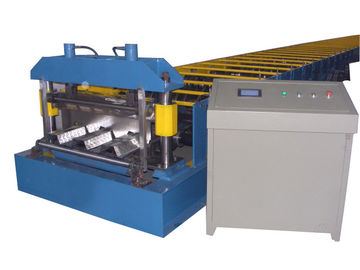 China Anti-Earthquake Floor Decking Forming Machine Thickness 0.6-1.5mm factory