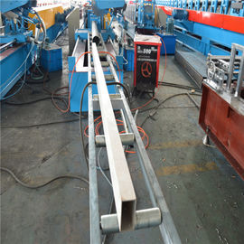 High Speed Rectangle Welding Tube Cold Roll Forming Machine Fly Saw Cutting