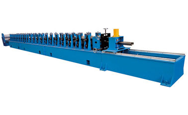 China PLC Control Door Frame Roll Forming Machine 380V 50Hz Cold Roll Forming Equipment factory