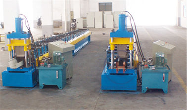 China Metal Door Frame Making Machine 380V 50Hz PLC Control Cold Roll Forming Equipment factory