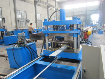 China Galvanized steel automatic C type purlin roll forming machine width adjustable factory