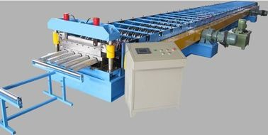 China Hydraulic Cutting 7.5KW Floor Decking Forming Machine Color Galvanized Steel Sheet factory