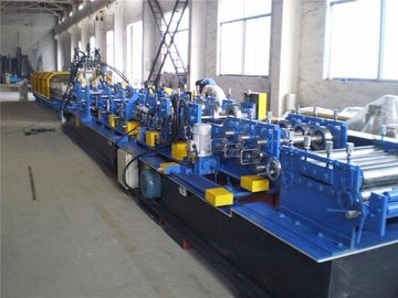 China Hydrodynamic Station Cut CZ Purlin Roll Forming Machine Interchangeable 7.5kW factory