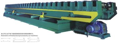China Customized Color Durable Shutter Door Cold Roll Forming Machine 8 - 10 M / Min factory