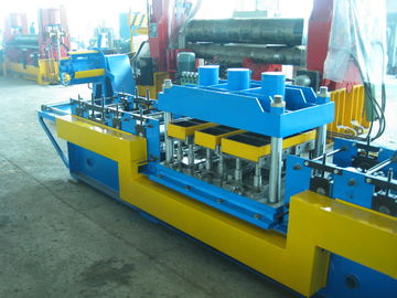 China 220V 380V 460V Glazed Tile Roll Forming Machine Door Frame Roll Forming Equipment factory