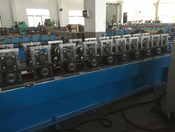 China 1100w Door Frame Roll Forming Machine 5.0T 1.6 - 2.0mm Steel Material Thickness factory