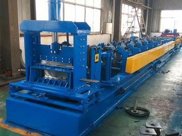 China Perforated Cable Tray Roll Forming Machine Hydraulic Cutting Cold Roll Forming Machine factory