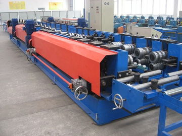 China Chain Drive C Steel Frame Roll Forming Machine Cable Tray Manufacturing Machine distributor