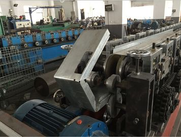 China 1.5 - 2mm Steel Door Frame Making Machine 17 Stations 8000mm X 800mm X 800mm factory