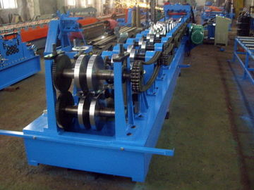 China 15-20 MPa Hydraulic Pressure C Z Purlins Rolling Machine With Chain Transmission factory