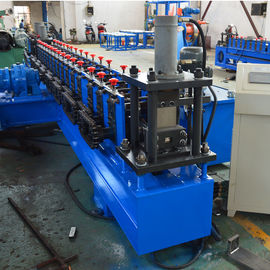 China 1.0 - 1.5mm Steel Frame CZ Purlin Roll Forming Machine Manually 380V 50Hz 3 Phase factory