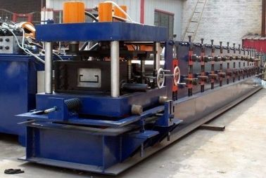 China 11KW Main Power C Purlins Roll Forming Machine With Hydraulic / Manual Decoiler distributor