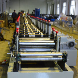 China 1.2 - 2.0mm Galvanized Steel Racking Beam Cold Roll Forming Machine 20 Roller Stations factory