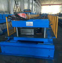 China Sheet Length 2000 - 6000mm Punching Press PLC Cable Tray Machine Gear Box Driven factory