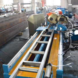 Hydraulic Power 4kw Galvanized Steel Octagon Pipe Roll Forming Machine For Rolling Shutter Door