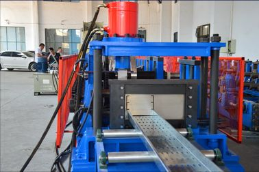 China Automatic Cable Tray Roll Forming Equipment with Imported Electric Appliance distributor