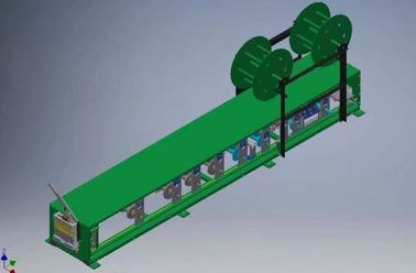 China Australia Popular Portable Gutter Roll Forming Equipment with Hydraulic Cutting factory