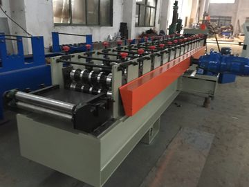Gcr15 Coated Chrome Floor Deck Roll Forming Machine , Roof Panel Roll Forming Machinery