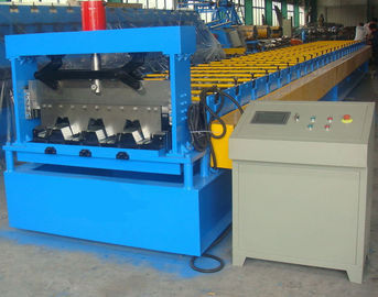 0.6-1.5mm Steel Ribbed Panel Floor Decking Cold Roll Forming Machine & Equipment